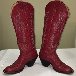 Red Nocona Boots